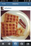 Waffles on Instagram