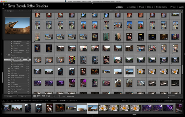 Drowning in images