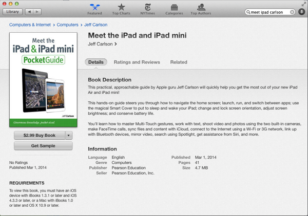Meet ipad 5ed ibookstore