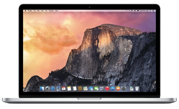 Yosemite desktop macbook