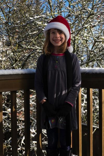 Ellie in Snow