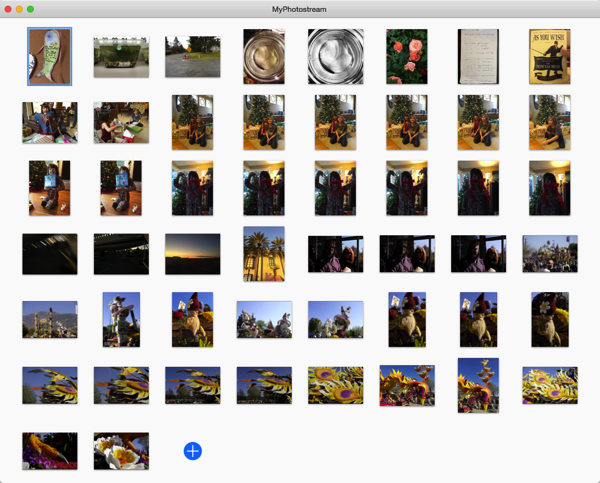 Myphotostream interface
