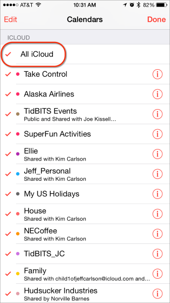 Calendar app iphone2