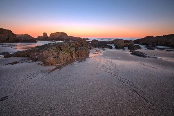 Beach Rivulets HDR