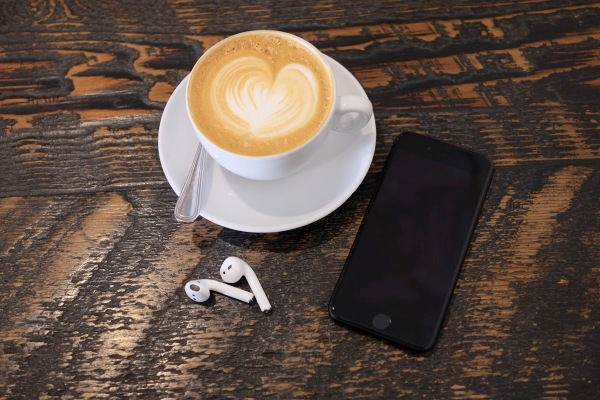 Airpods coffee