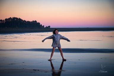 Ellie on the Beach
