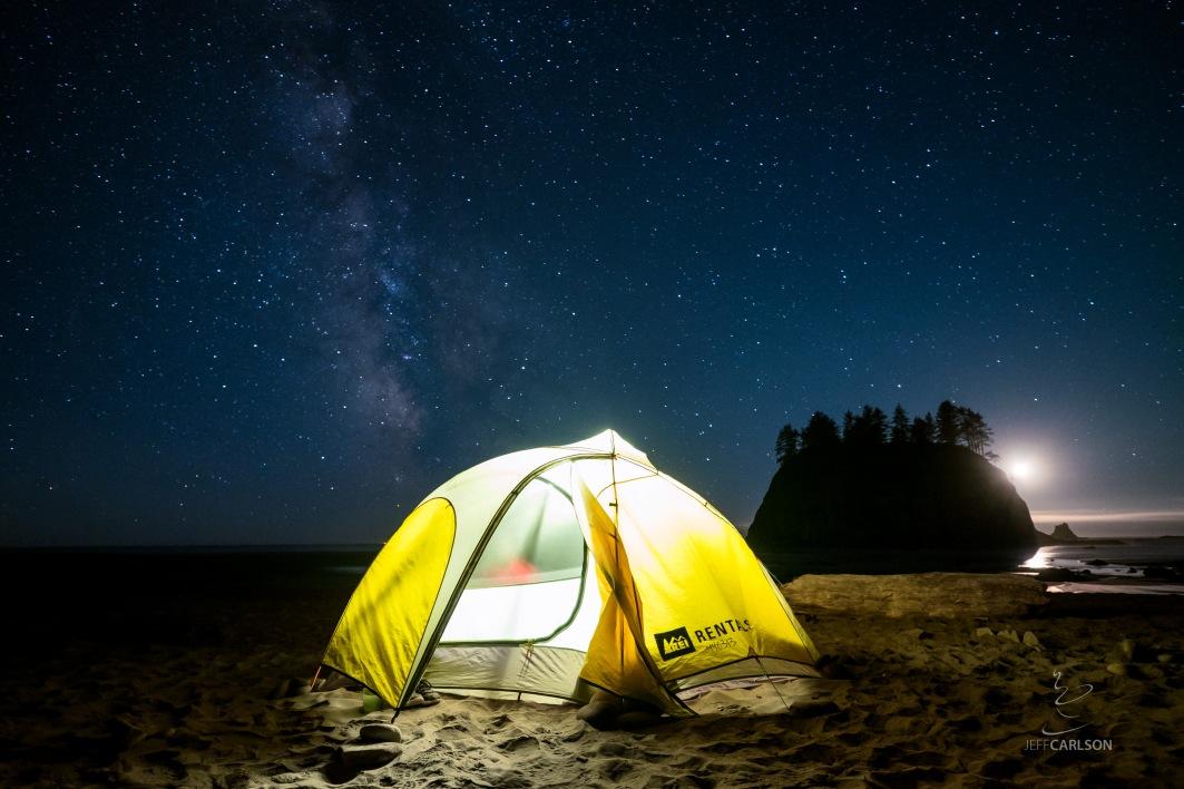 Second Beach, near Forks, WA