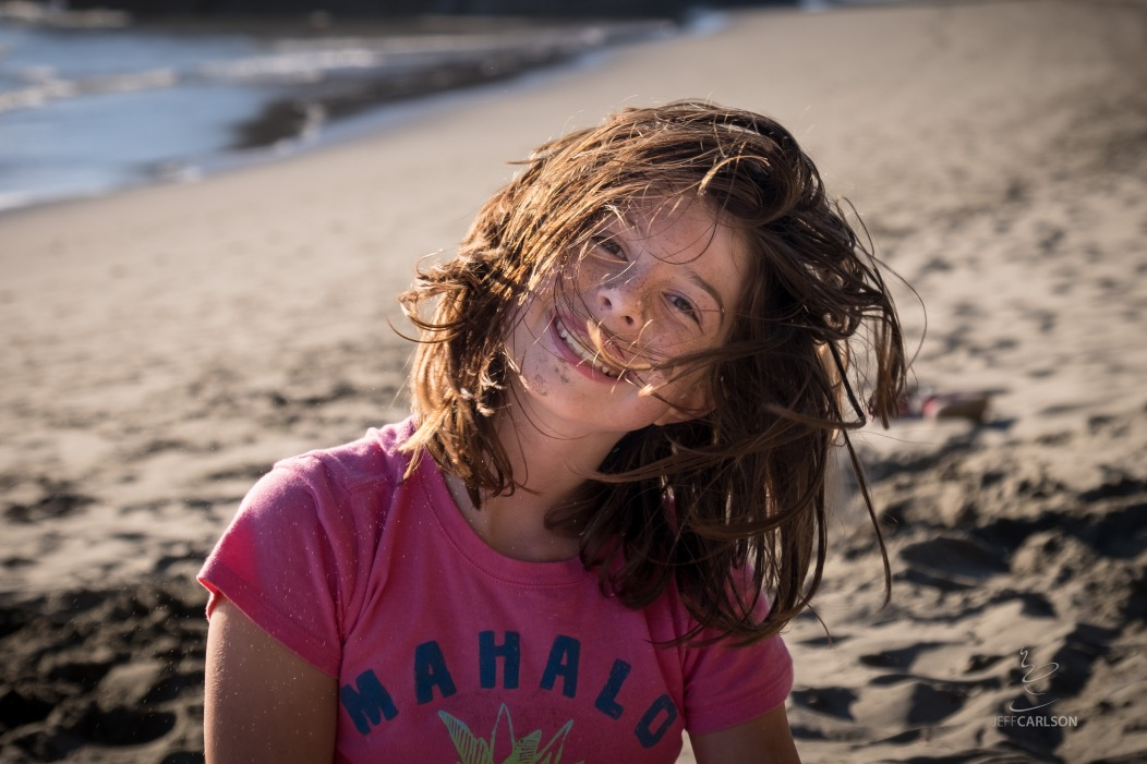 Sand, Wind, and Hair