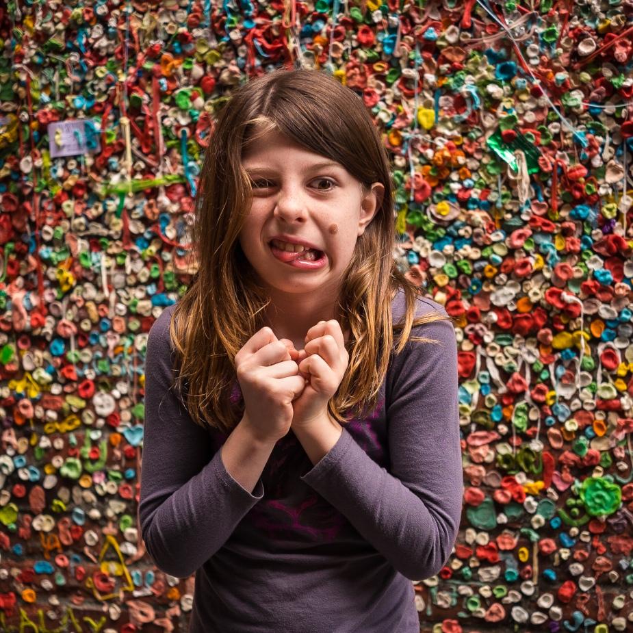 Gum Wall Ewwwwwww