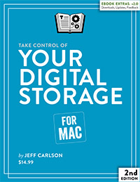 Image of book Take Control of Your Digital Storage, Second Edition
